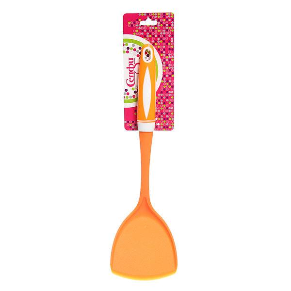 ″Апельсин″ Лопатка кухонная широкая пластиковая Н-3021 Селфи купить оптом и в розницу