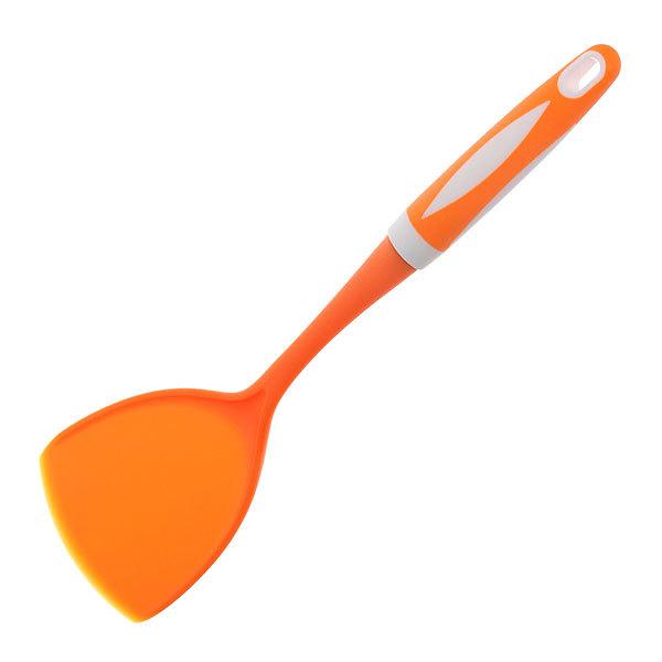 Лопатка кухонная широкая пластиковая ″Апельсин″ Селфи купить оптом и в розницу