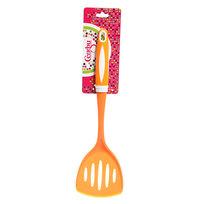 Лопатка кухонная широкая с прорезями пластиковая ″Апельсин″ Селфи купить оптом и в розницу
