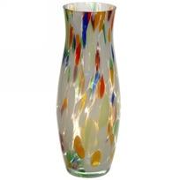 Ваза h=26см стеклокрошка разноцветная купить оптом и в розницу
