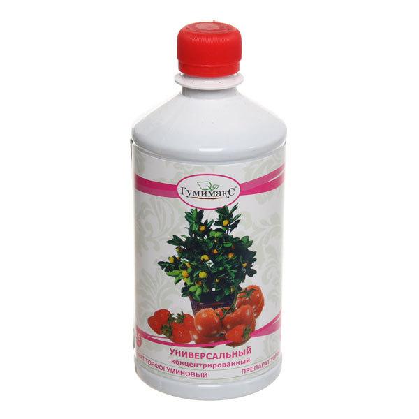 Удобрение торфогуминовое универсальное концентрированное 0,5 л ″Гумимакс″ купить оптом и в розницу