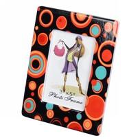 Фоторамка из керамики ″Цветные шарики″ 8*13 см купить оптом и в розницу