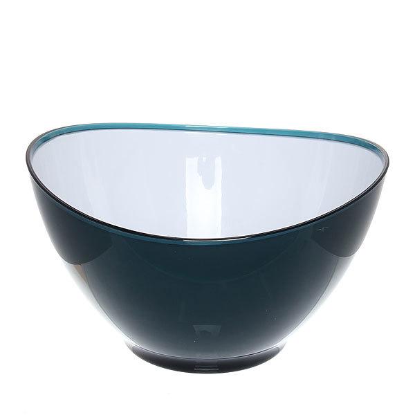 Салатник пластиковый ″Модерн″ 2000 мл темно-синий купить оптом и в розницу