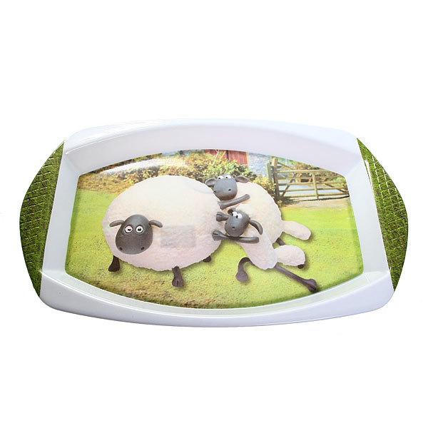 Поднос пластиковый ″Веселая овечка″ 43*27 см купить оптом и в розницу