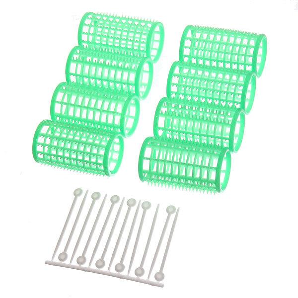 Бигуди пластмассовые со шпильками 8шт, d=36мм купить оптом и в розницу