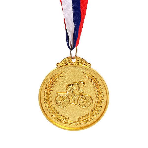 Медаль ″Велоспорт″ - 1 место (6,5см) купить оптом и в розницу