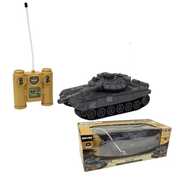 Танк р/у 1207-019MAR Танковый бой.МТ-90 Mioshi 1:28 в кор. купить оптом и в розницу
