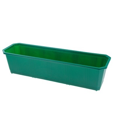 Ящик балконный 80 см темно-зеленый *20 купить оптом и в розницу