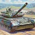 Сб.модель 3592 Танк Т -80БВ купить оптом и в розницу