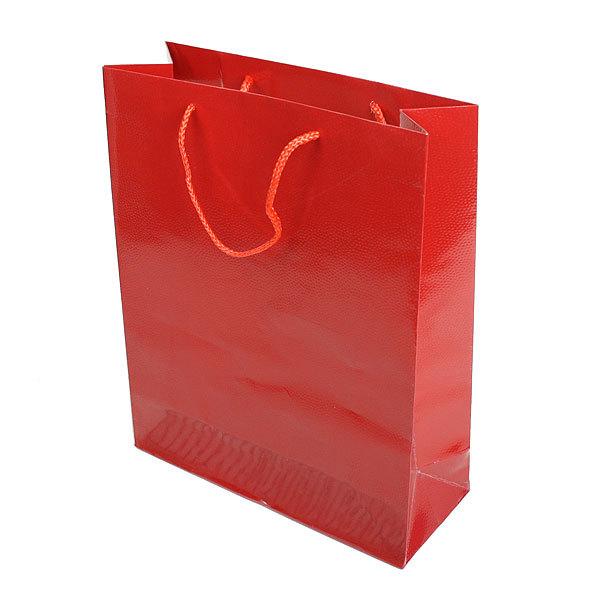 Пакет подарочный ″Под кожу -2″ 32*10*26 купить оптом и в розницу
