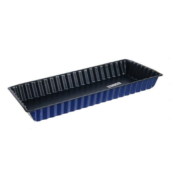 Форма для выпечки металлическая 28*13*3,5см с антипригарным покрытием купить оптом и в розницу