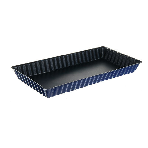 Форма для выпечки металлическая 29,5*15*3,5см с антипригарным покрытием купить оптом и в розницу