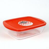 Блюдо прямоугольное с крышкой O CUISINE 28x20x8см 2.6л (1/5) купить оптом и в розницу