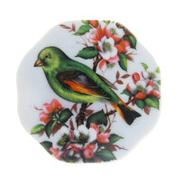Магнит из керамики ″Птицы″7*6см А-09 купить оптом и в розницу