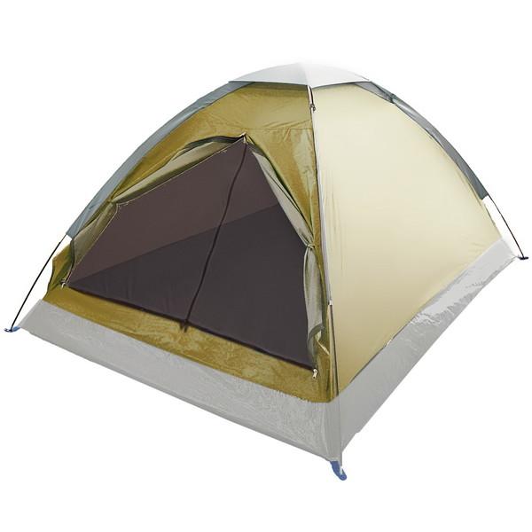 Палатка туристическая 2-местная 1-слойная,210*150*105 купить оптом и в розницу