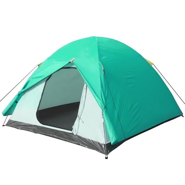 Палатка туристическая 2-местная 2-слойная 200x145x100 купить оптом и в розницу