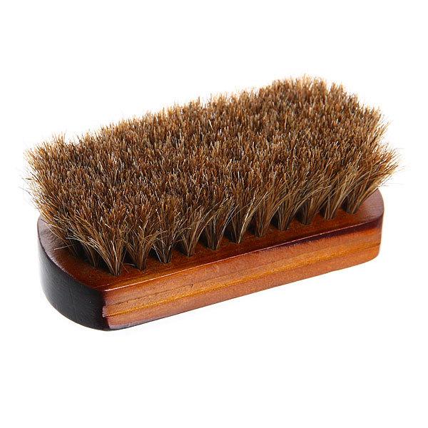 Щетка для обуви деревянная 11см натуральный ворс купить оптом и в розницу