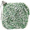 Новогодние шары ″Изумрудная капля в негу″ 8см (набор 2шт.) купить оптом и в розницу