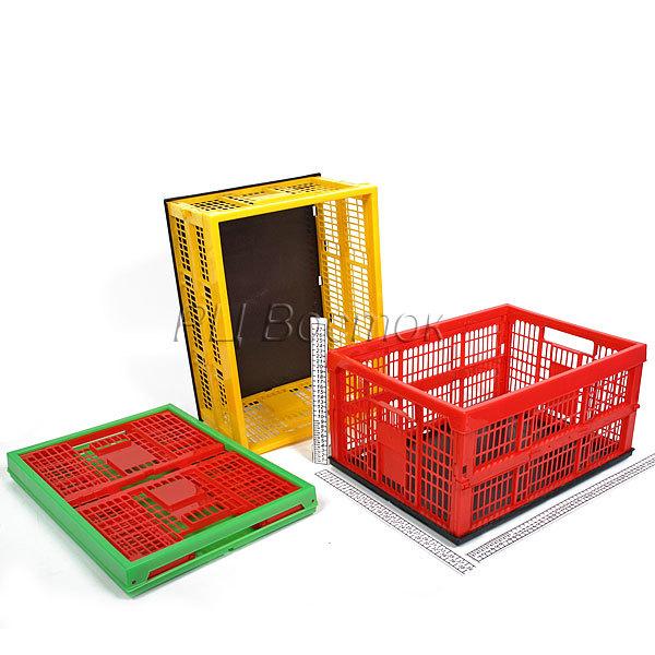 Ящик складной ПВХ 32л (480*350*60/230мм) купить оптом и в розницу