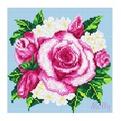 Набор ДТ Картина стразами Розовый букет DL007 купить оптом и в розницу
