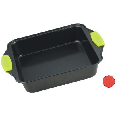 Форма для выпечки с антипригарным покрытием 27см, силиконовые ручки купить оптом и в розницу
