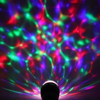Светодиодная лампа диско ″Калейдоскоп,RGB(красный, зеленый, синий), цоколь Е27, 220 В купить оптом и в розницу