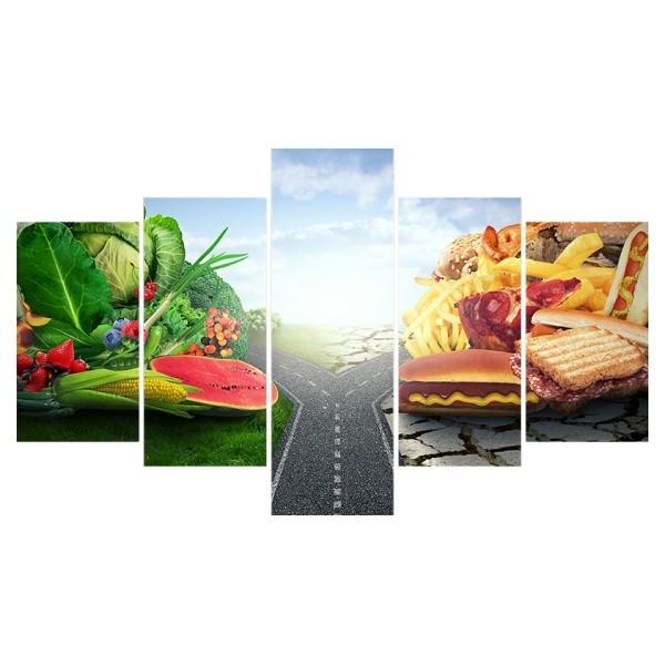 Картина модульная полиптих 75*130 Еда диз.7 23-02 купить оптом и в розницу