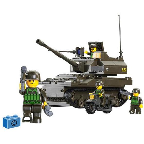 Констр-р 38-9800МВ Сухопутные войска 258 дет.в кор. купить оптом и в розницу