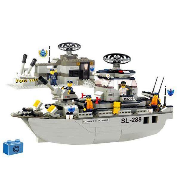 Констр-р 38-0122 Корабль 449 дет.в кор. купить оптом и в розницу