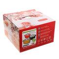 Кастрюля керамическая жаропрочная 1,3л SG-S308 оранжевая купить оптом и в розницу