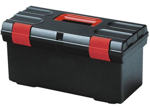 """Ящик для инструментов Curver(610*280*272) 24"""" BASIC черный/красный/*2 шт купить оптом и в розницу"""
