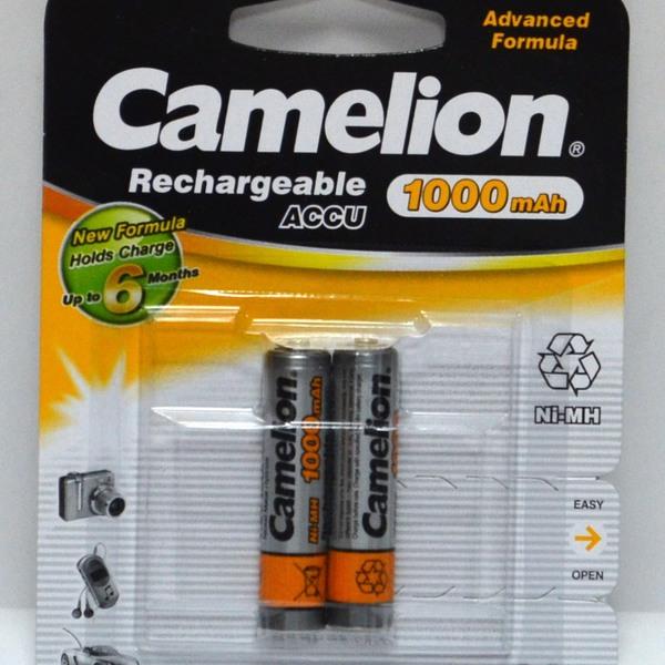 Аккумулятор Camelion R-03/AAA/1000 mAh BL*2 купить оптом и в розницу