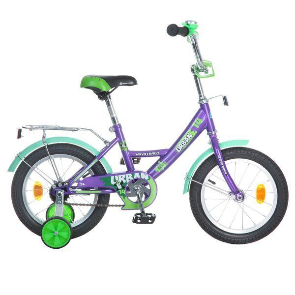 """Велосипед 2-х 14"""" URBAN фиолетовый купить оптом и в розницу"""