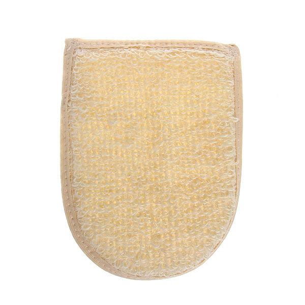 Мочалка-варежка для тела Vival крапива рами К105 купить оптом и в розницу