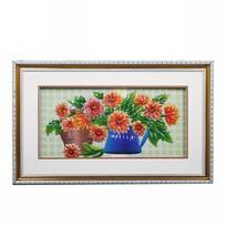 Картина объемная 35*57см ″Цветы″ E-2 купить оптом и в розницу