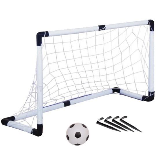 Набор тренировочный для футбола,120*40*80 см: ворота,мяч,насос