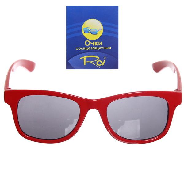 5c588a21a77f Очки солнцезащитные детские, форма прямоугольная