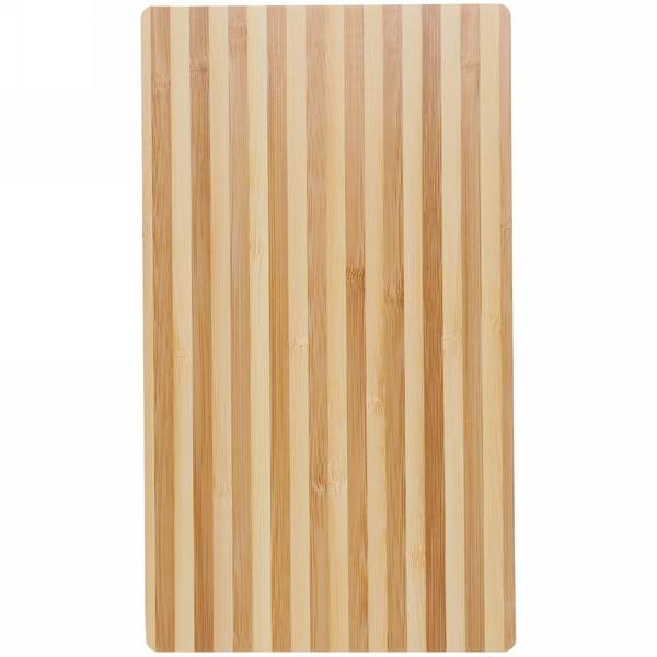 Доска разделочная из бамбука полосатая 24*14*0,8см