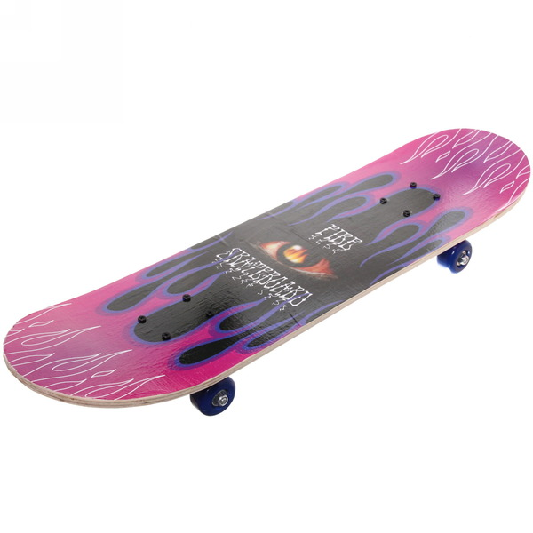 Скейтборд 78*20 см KL-3108B (колеса ПВХ 52 мм, подвеска металл усилен.)
