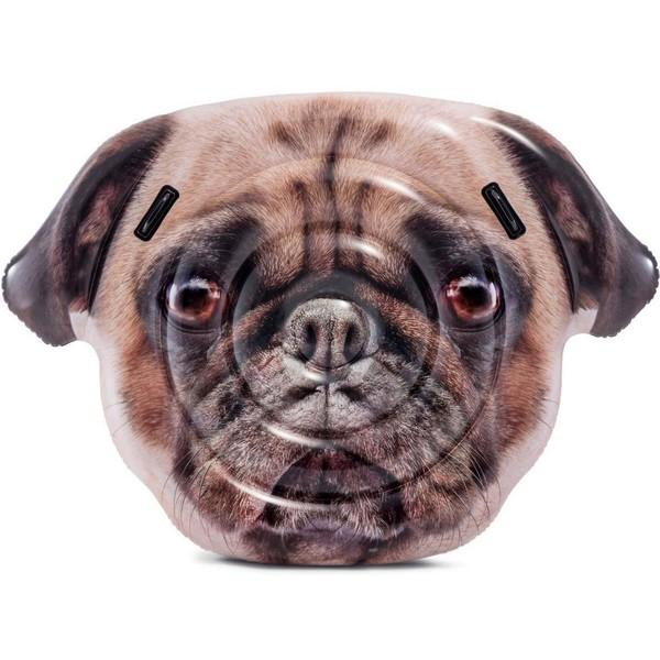 Плот надувной 173*130 см Pug Face Intex (58785)