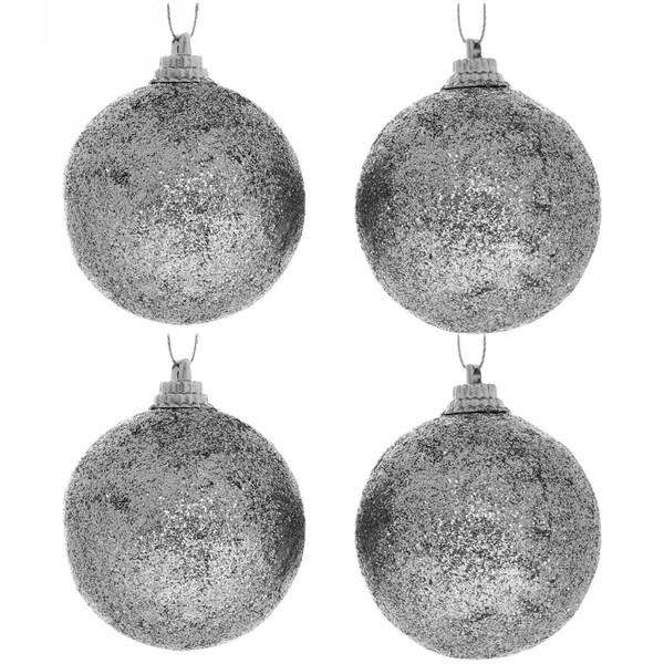Новогодние шары 5 см (набор 4 шт)