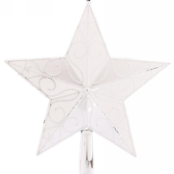 Звезда на ёлку 22 см