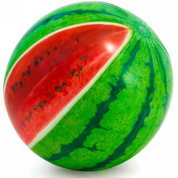 Игрушка мяч пляжный 107 см Арбуз Intex (58075)