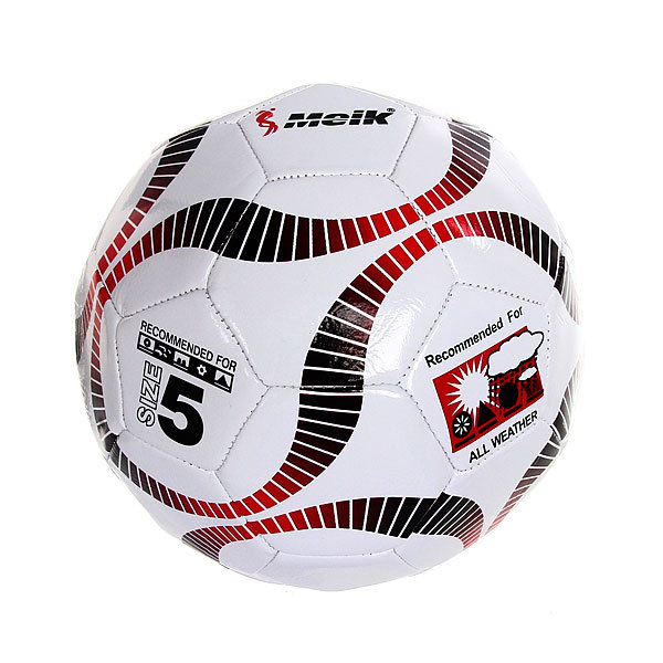 Мяч футбольный Meik Hat Trick MK-2000 (ПВХ,р.5)
