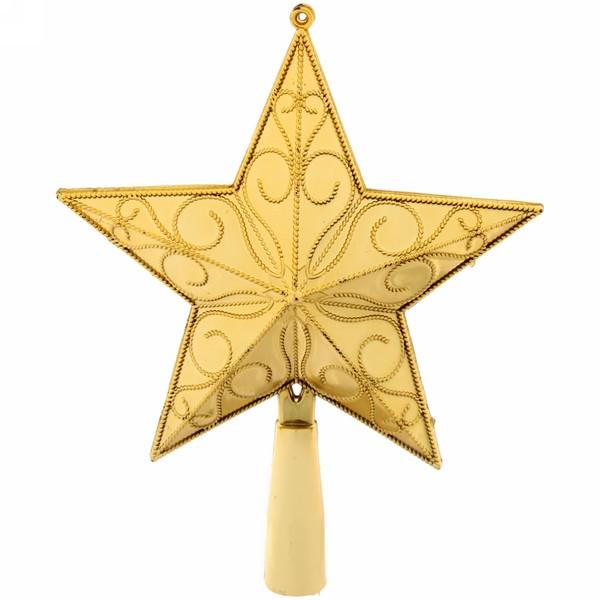 Звезда на ёлку 16 см