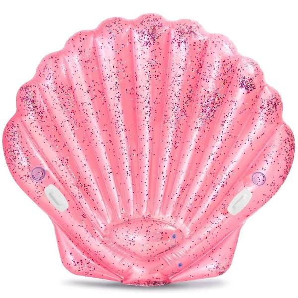 Плот надувной 178*165*24 см Pink Seashell Intex (57257EU)