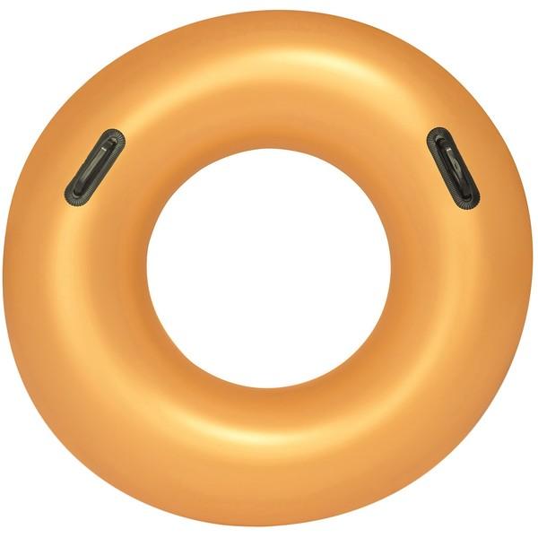 Круг для плавания 91 см с ручками Gold Bestway (36127)