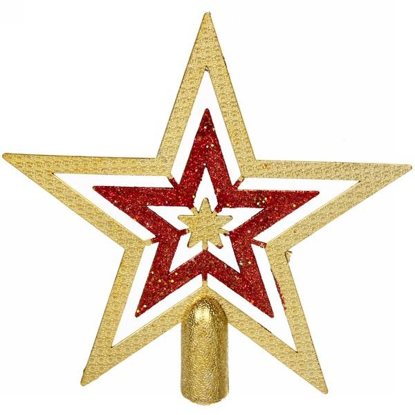 Звезда на ёлку 18,5 см