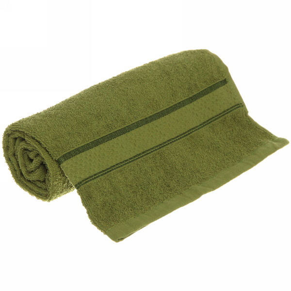 Полотенце махровое 50*90 хаки