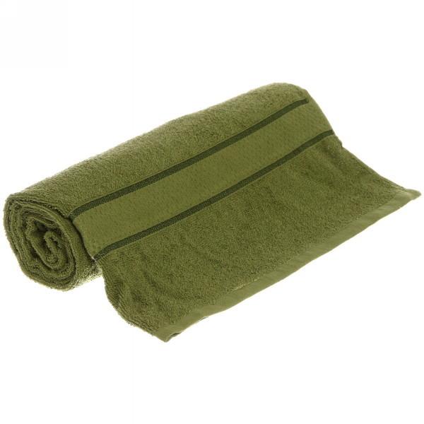 Полотенце махровое 70*130 хаки